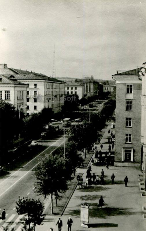 Проспект Ленина. Петрозаводск, 1984 год