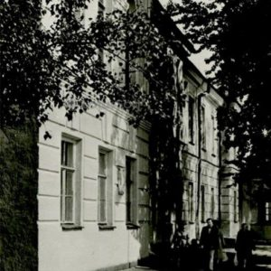 The former gymnasium. Petrozavodsk, 1984