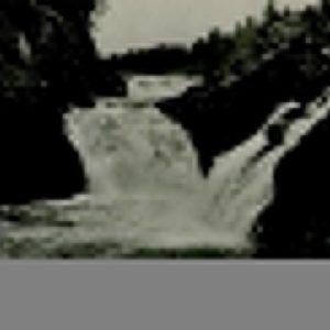 Kivach waterfall. Petrozavodsk, 1984