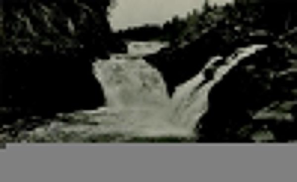 Водопад Кивач. Петрозаводск, 1984 год