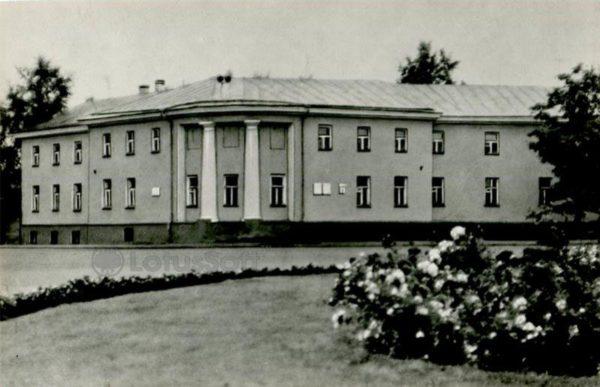 Площадь им. В.И. Ленина, дом N1. Петрозаводск, 1984 год
