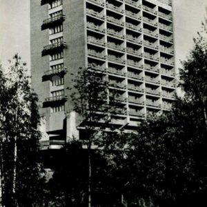 """The tourist complex """"Carillo"""". Petrozavodsk, 1984"""