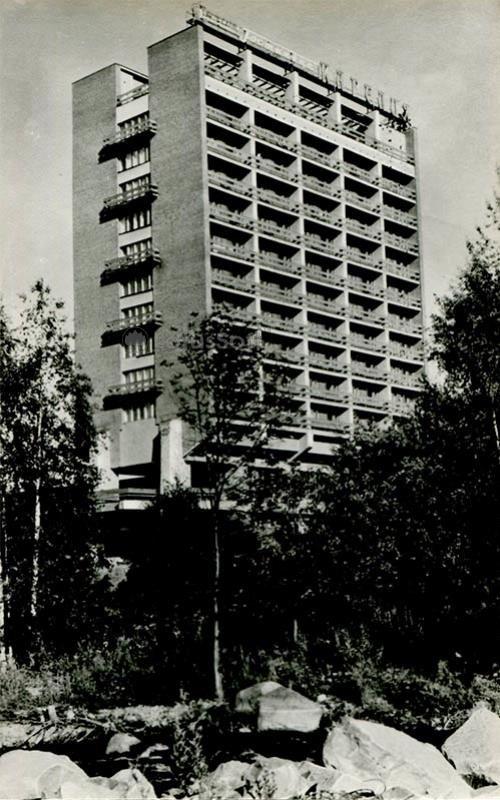"""Туристский комплекс """"Карилия"""". Петрозаводск, 1984 год"""