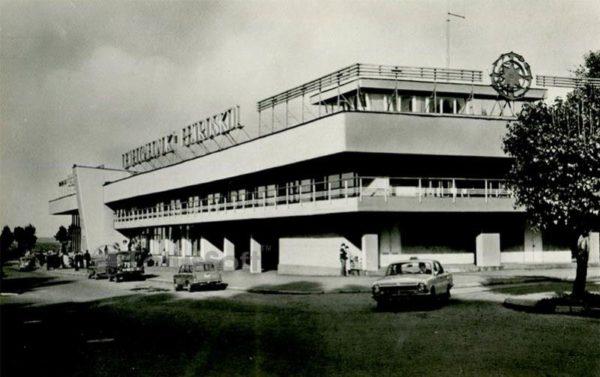 Речной вокзал. Петрозаводск, 1984 год
