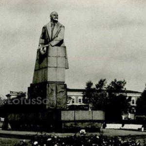 VI monument Lenin. Petrozavodsk, 1984