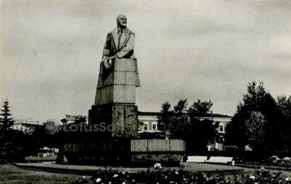 Памятник В.И. Ленину. Петрозаводск, 1984 год
