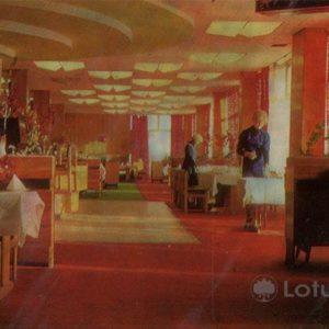 """Restaurant """"Moscow"""". Naberezhnye Chelny, 1981"""