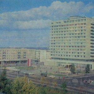 The hotel & # 034; RT & # 034 ;. Naberezhnye Chelny, 1981