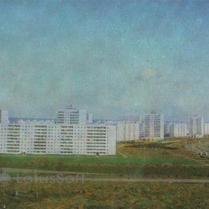 Peace Avenue. Naberezhnye Chelny, 1981