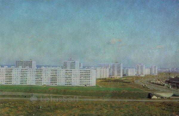 Проспект Мира. Набережные Челны, 1981 год