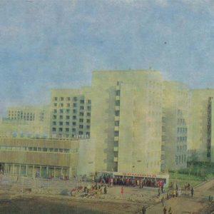 Автозаводсткой район города. Набережные Челны, 1981 год
