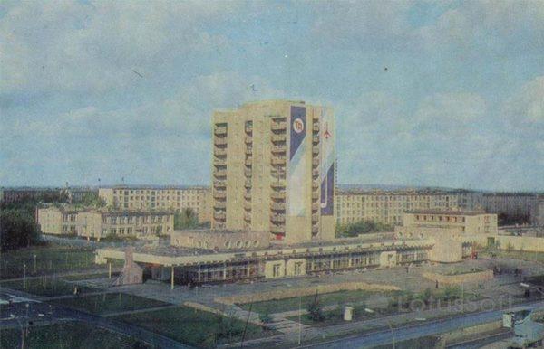 Здание трансагентства. Набережные Челны, 1981 год