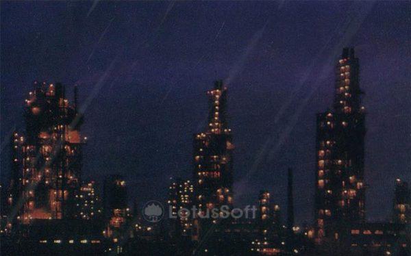 Нефтеперерабатывающий завод им. В.И. Ленина. Баку (1970 год)