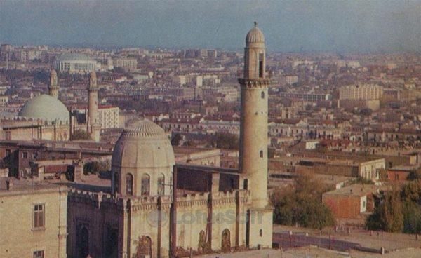 Панорама города. Баку (1970 год)