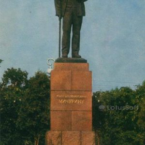 IV monument Michurin. Michurinsk, 1973