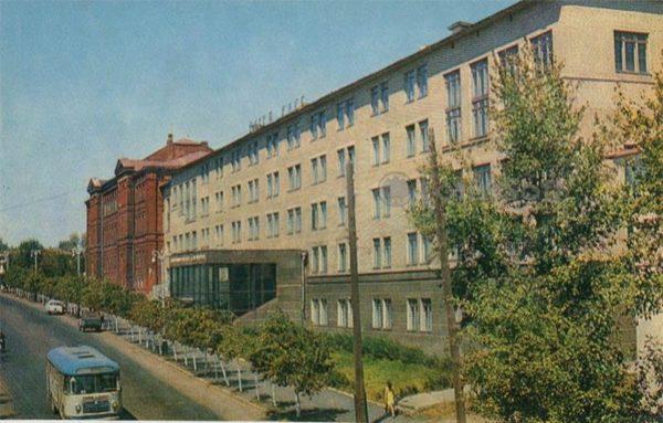 Плодоовощной институт. Мичуринск, 1973 год