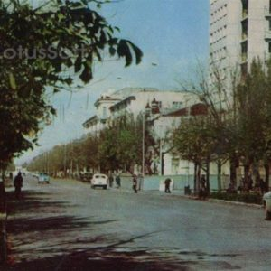 View of the city of Maikop, 1973