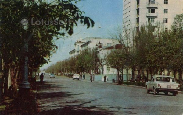 Вид города Майкоп, 1973 год