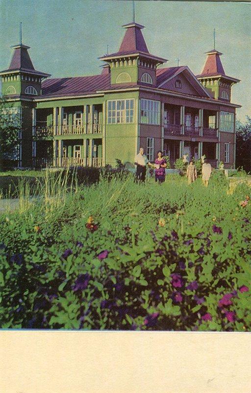 """Спальный корпус дома отдыха """"Плес"""". Плес, 1968 год"""