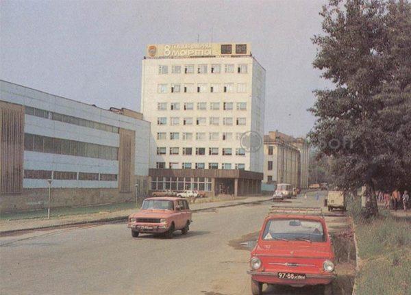 Ордена Трудового Красного Знамени ткацкая фабрика имени 8 марта. Иваново, 1986 год