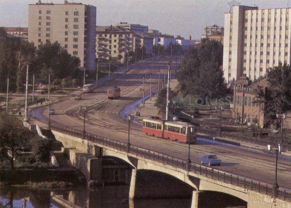 Проспект Фридриха Энгельса. Иваново, 1986 год