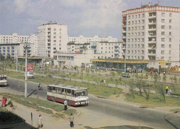 Проспект Текстильщиков. Иваново, 1986 год