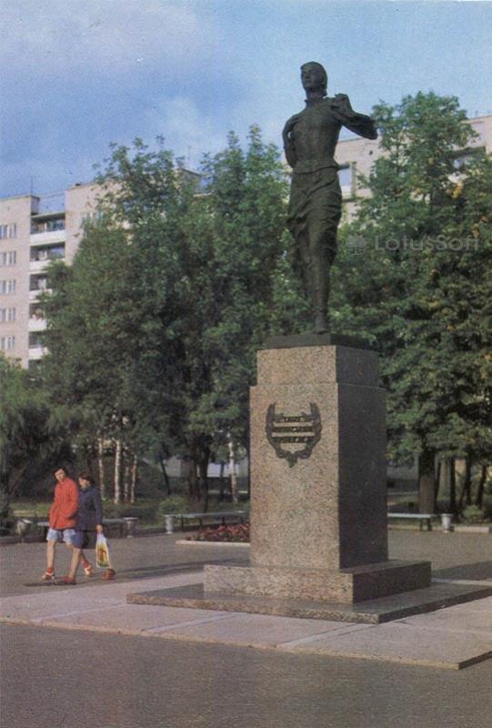 Памятник О.А. Варенцовой. Иваново, 1986 год