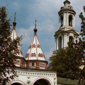 Holy Gates Rizopolozhensky monastery. Suzdal, 1983