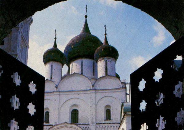Рождественский собор. Суздаль, 1983 год