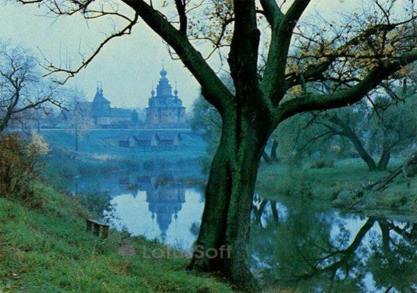 Река Каменка. Суздаль, 1983 год