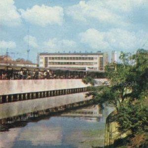 Автовокзал. Рига, 1971 год