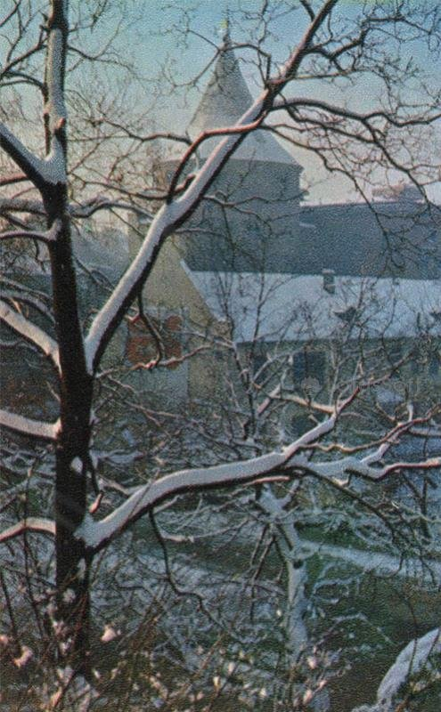 Winter view from the Bastion Hill. Riga, 1971