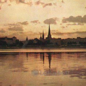 Панорама Риги, 1971 год