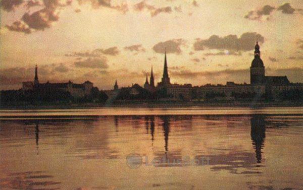 Panorama of Riga, 1971