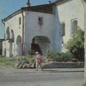 Жилые купеческие палаты. Псков, 1973 год