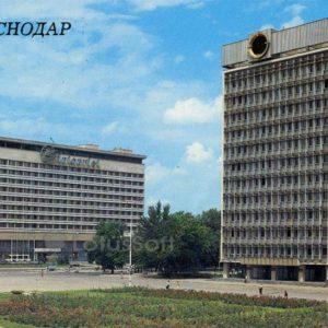 """Гостиница """"Интурист"""". Краснодар, 1988 год"""