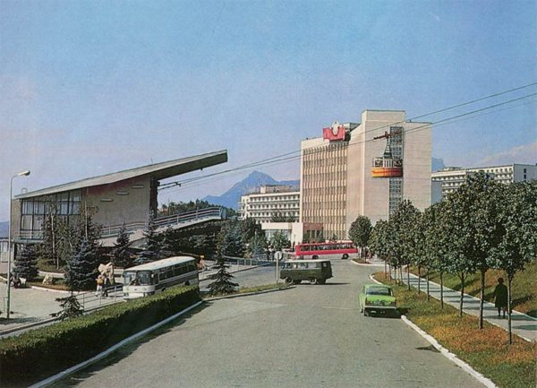 Канатная дорога. Пятигорск, 1987 год