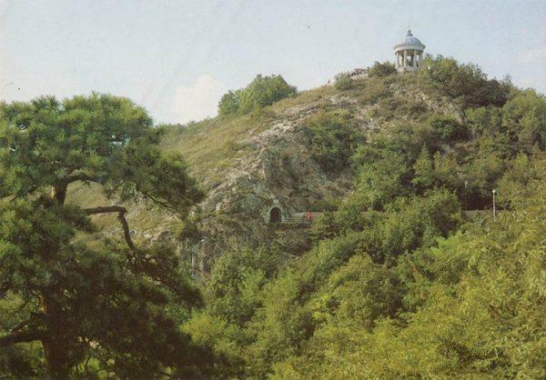 Эмануэловский парк. Пятигорск, 1988 год