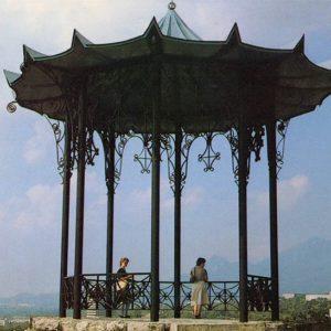 Chinese gazebo. Pyatigorsk, 1988