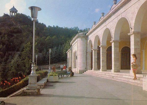 Академическая галерея. Пятигорск, 1988 год