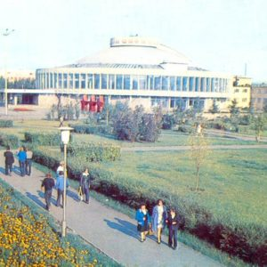 The circus. Krasnoyarsk, 1977