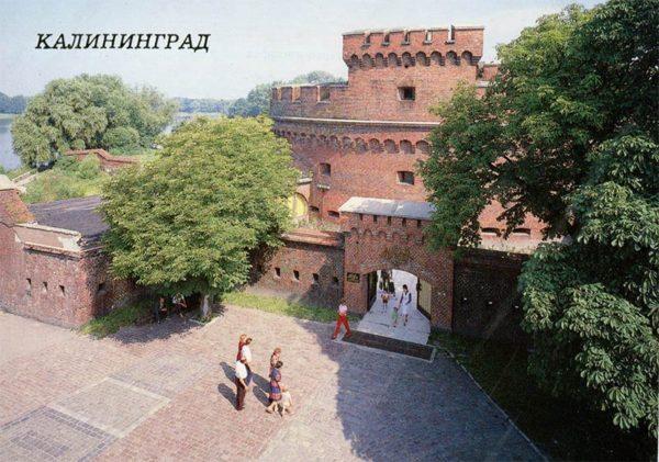 Музей янтаря. Калининград, 1987 год