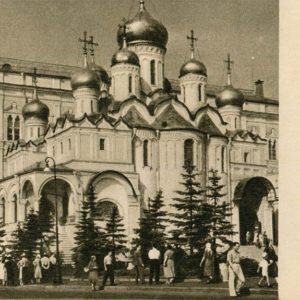 Благовещенский собор. Москва, 1955 год