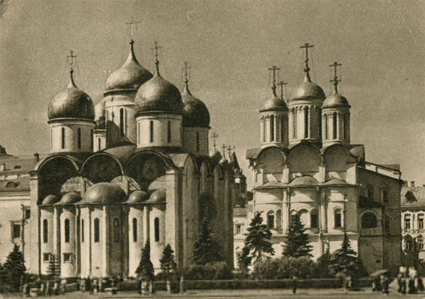 Cathedral of the Assumption. Kremlin. Moscow, 1955