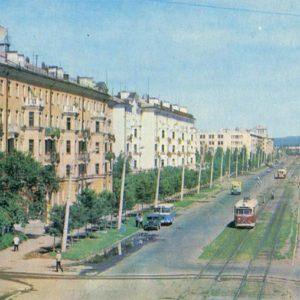 Peace Avenue. Komsomolsk-on-Amur, 1975