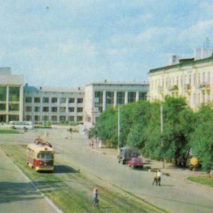 Palace of Culture named after Lenin Komsomol Plant. Komsomolsk-on-Amur, 1975