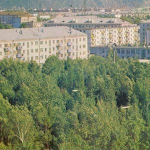 City view. Komsomolsk-on-Amur, 1975