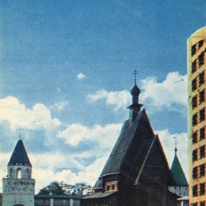 Museum of Wooden Architecture. Kostroma, 1971