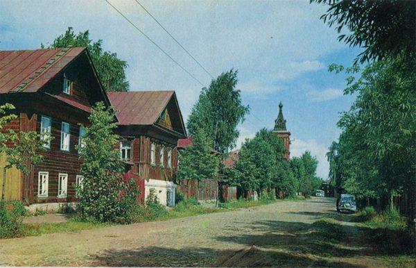 Старая Кинешма, 1971 год