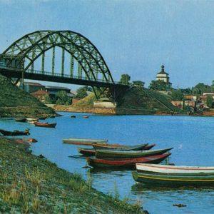 Мост через реку Кинешемку. Кинешма, 1971 год